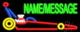 Custom Dragster LED Neon Sign