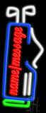 Custom Golf Bag LED Neon Sign