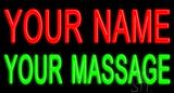 Custom Massage LED Neon Sign