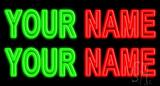 Custom Name LED Neon Sign