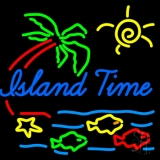 Island Time LED Neon Sign