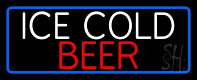 Ice Cold Beer LED Neon Sign