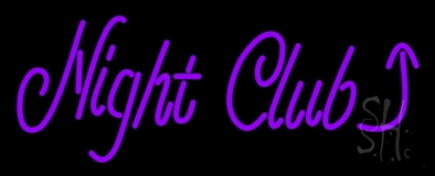 Night Club With Arrow Bar LED Neon Sign