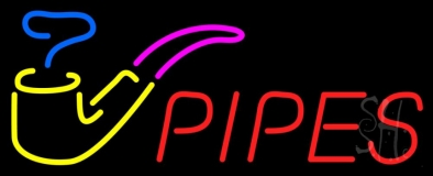 Pipes Bar LED Neon Sign