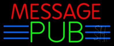 Custom Message Pub LED Neon Sign