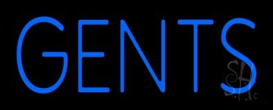 Gents Restroom LED Neon Sign