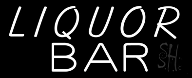 Liquor Bar LED Neon Sign
