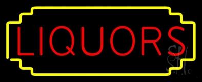 Liquors LED Neon Sign