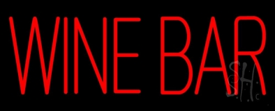 Red Wine Bar LED Neon Sign