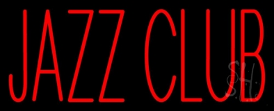 Red Jazz Club LED Neon Sign