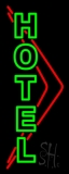 Green Hotel LED Neon Sign