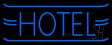 Simle Hotel Neon Sign