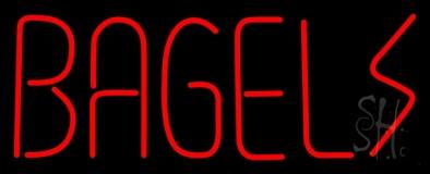 Bagels LED Neon Sign