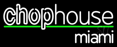 Chophouse Double Stroke LED Neon Sign