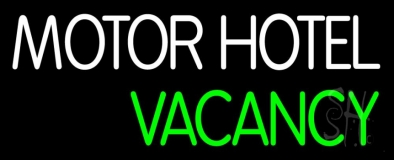 Hotel Vacancy LED Neon Sign