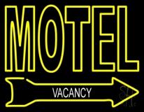 Motel Vacancy LED Neon Sign