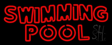 Swimming Pool LED Neon Sign