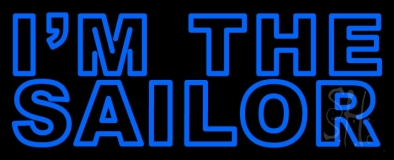 I Am The Sailor LED Neon Sign