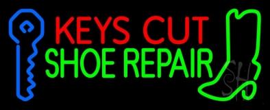 Keys Cut Shoe Repair LED Neon Sign