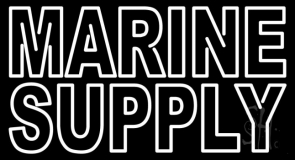Marine Supply LED Neon Sign
