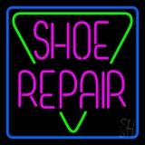 Pink Shoe Repair Block LED Neon Sign