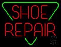 Red Shoe Repair Block LED Neon Sign