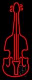 Red Violin Logo 1 LED Neon Sign