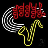 Saxophone LED Neon Sign