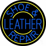 Shoe and Leather Repair LED Neon Sign