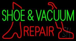 Shoe and Vacuum Repair LED Neon Sign