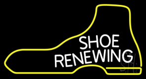 Shoe Renewing LED Neon Sign