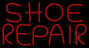 Shoe Repair Red LED Neon Sign