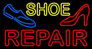 Shoe Repair With Sandal Shoe LED Neon Sign