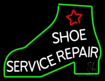 Shoe Service Repair LED Neon Sign
