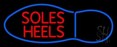 Soles Heels Neon Sign