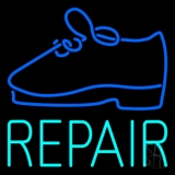 Turquoise Repair Shoe LED Neon Sign