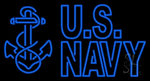 Us Navy LED Neon Sign