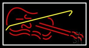 Violin LED Neon Sign