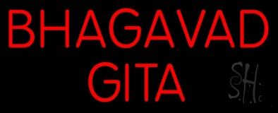 Bhagavad Gita LED Neon Sign