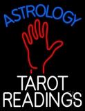 Blue Astrology White Tarot Readings LED Neon Sign