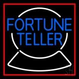 Blue Fortune Teller Logo LED Neon Sign