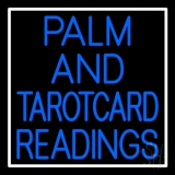 Blue Palm And Tarot Card Readings LED Neon Sign