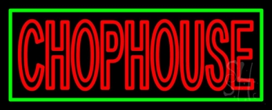 Red Chophouse LED Neon Sign