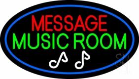 Custom Green Music Room LED Neon Sign