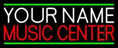 Custom Red Music Center LED Neon Sign