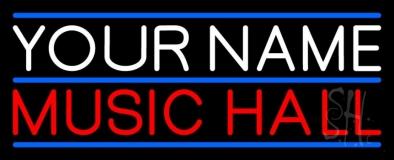Custom Red Music Hall LED Neon Sign