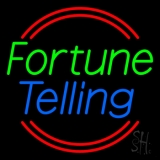 Green Fortune Blue Telling LED Neon Sign