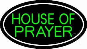 Green House Of Prayer LED Neon Sign