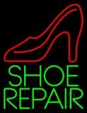 Green Shoe Repair LED Neon Sign