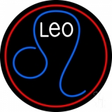 Leo Zodiac LED Neon Sign